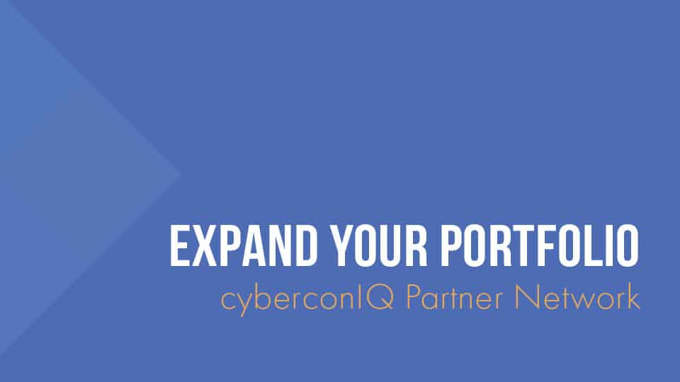 cyberconIQ - Partner Network - Expand your Portfolio