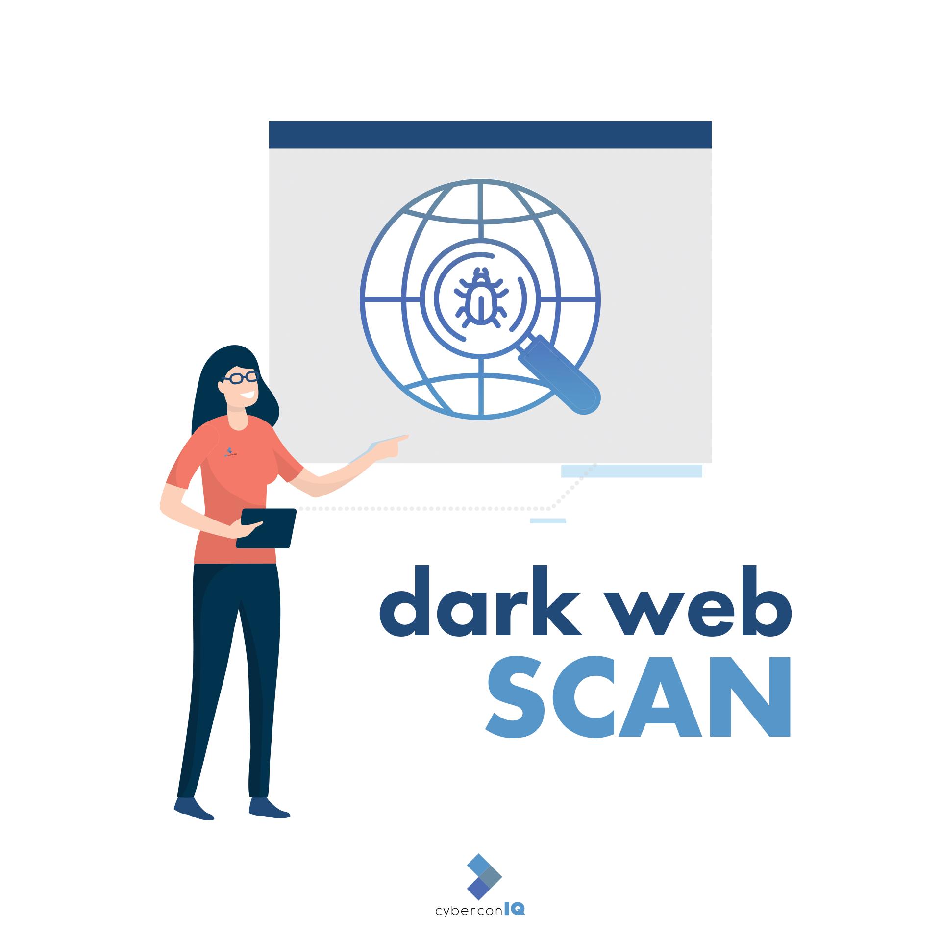 cybermetriqs dark web scan